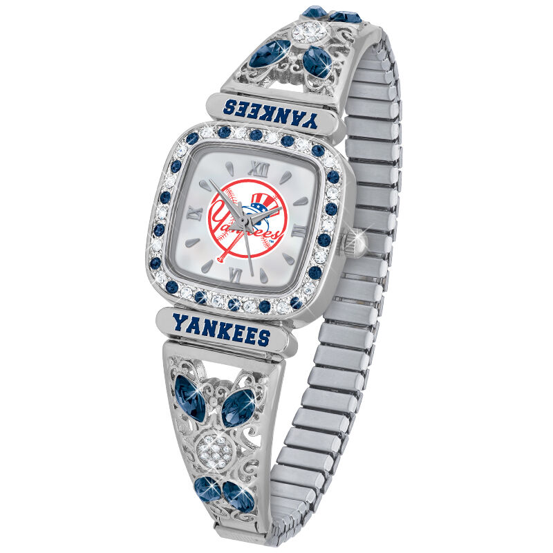 New York Yankees Womens Stretch Watch 4576 004 8 1