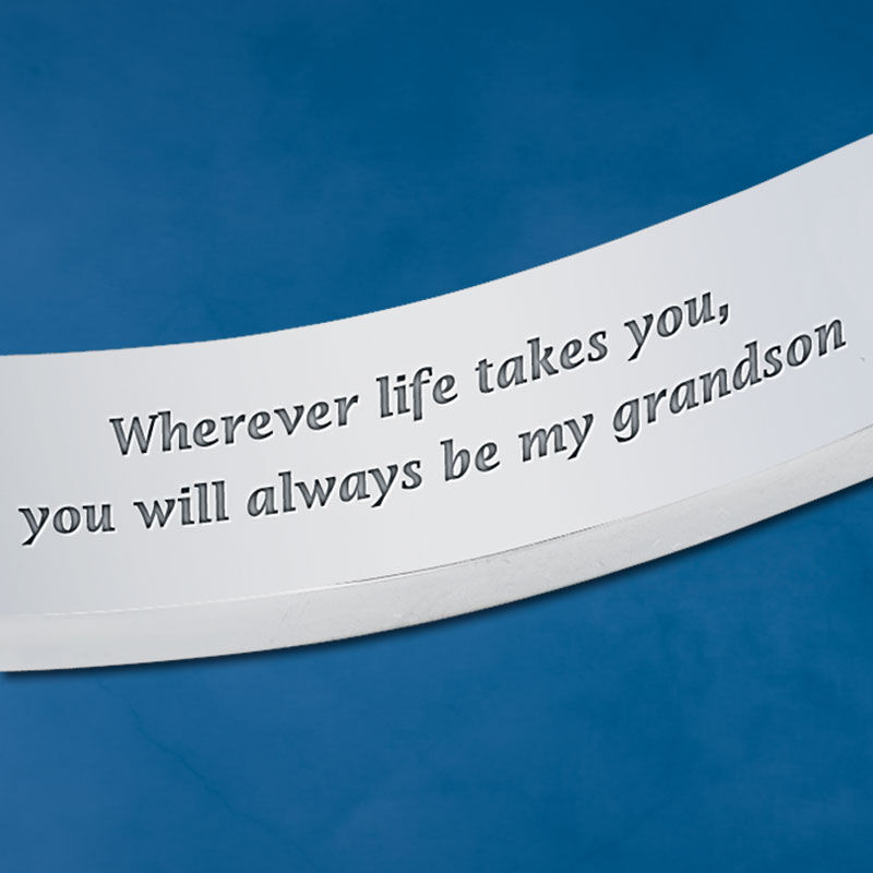 Wherever Life Takes You Personalized Grandson Bracelet 2981 002 5 2