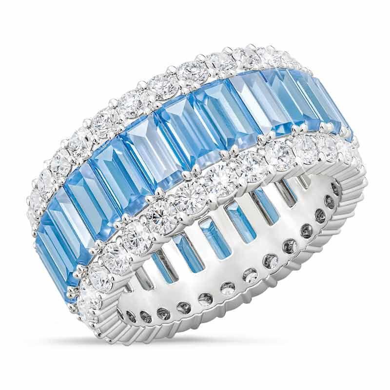 Birthstone Beauty Eternity Ring 2811 001 3 12