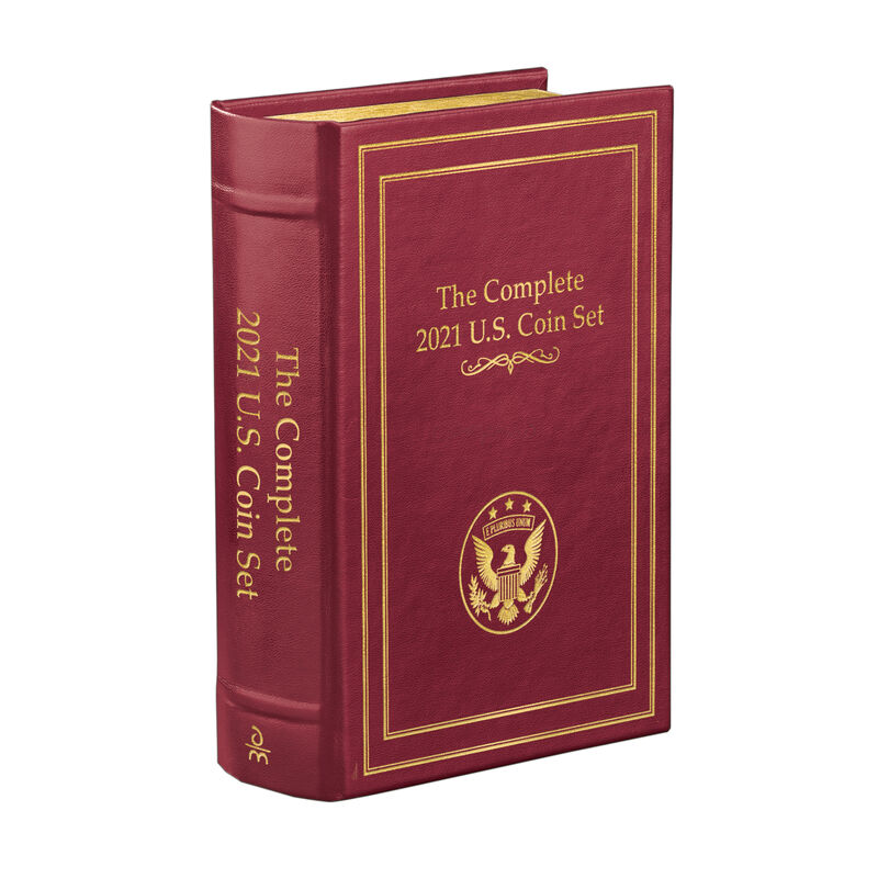 The Complete 2021 US Coin Set 9867 0276 g closed book