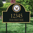 US Navy Personalized Address Plaque 5718 002 8 2