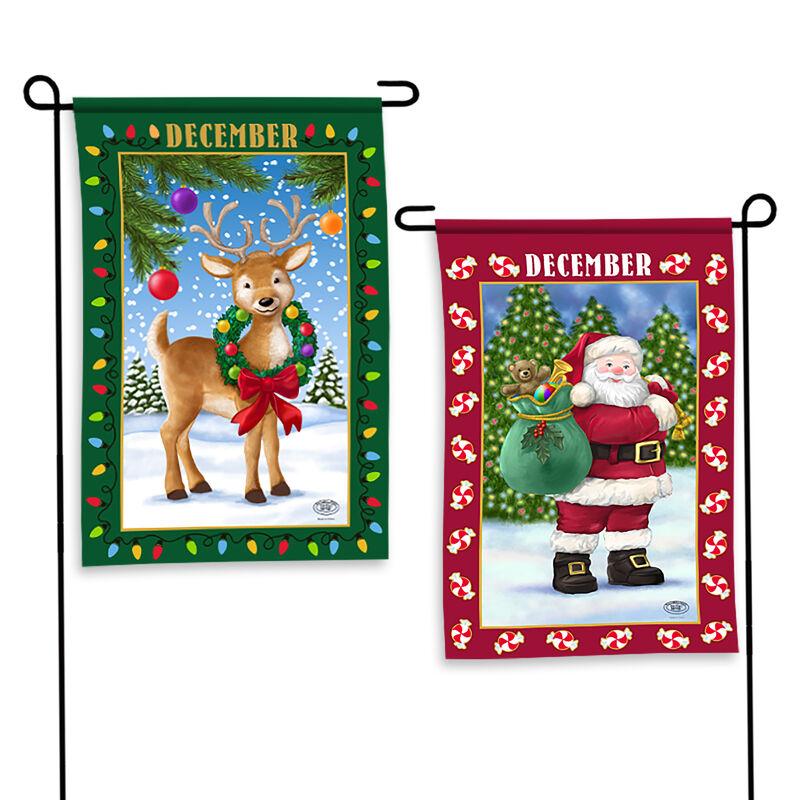 Year of Cheer Garden Flags 6547 0015 e December
