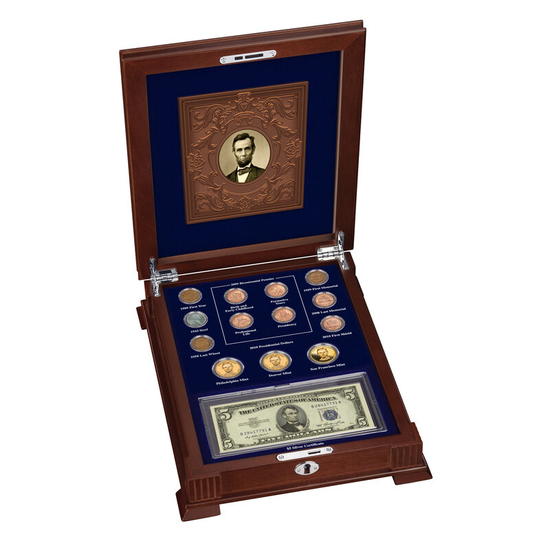 Abraham Lincoln Coin and Currency Set 6159 0022 a main