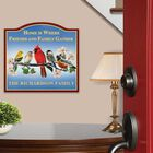The Songbird Personalized Welcome Sign 6060 001 2 2