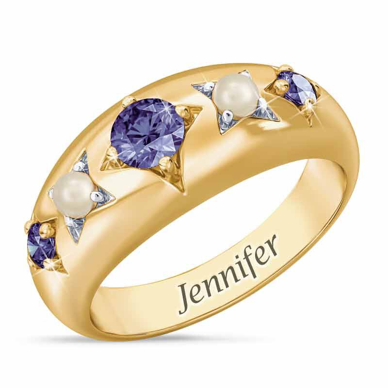 Royal Radiance Personalized Birthstone Ring 1906 001 1 2