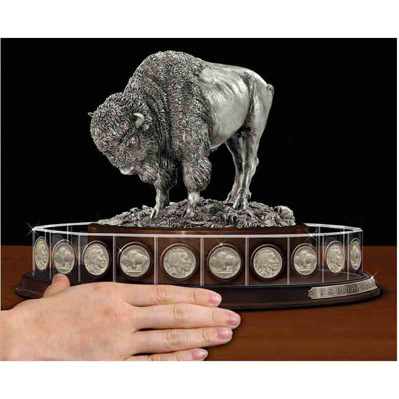 United States Buffalo Nickels Crystal Collection 1690 003 7 3