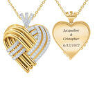 Woven Together Anniversary Heart Pendant 10134 0024 a main