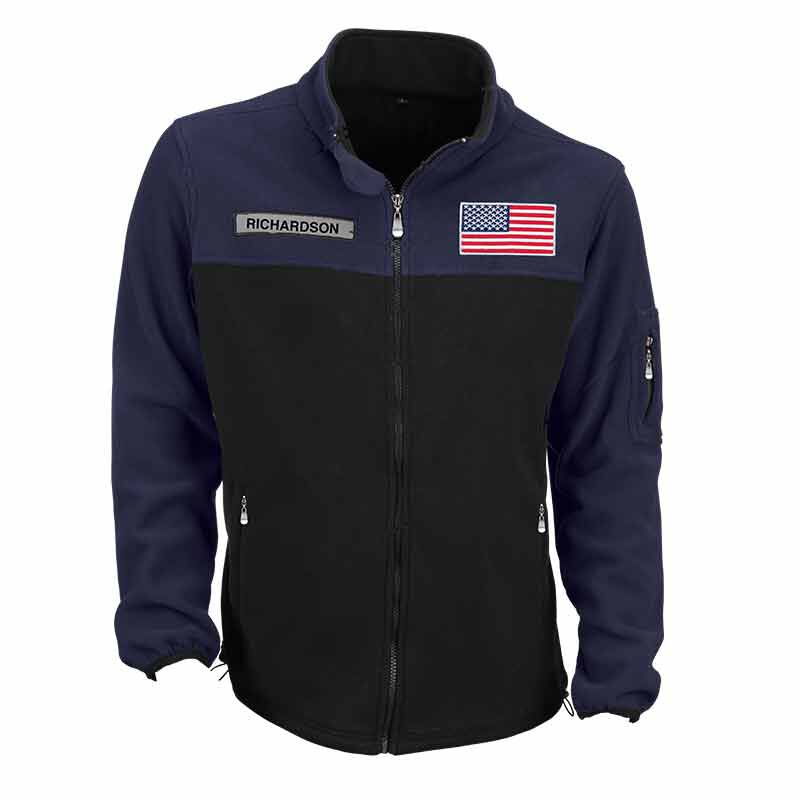 The American Patriot Personalized Fleece Jacket 1733 001 0 1