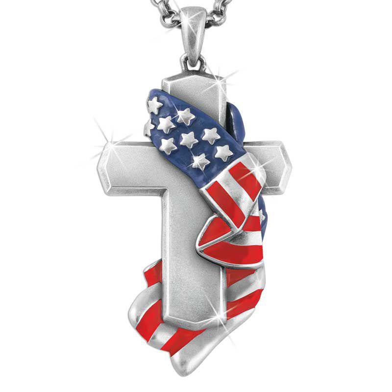 Draped Cross Pendant 5674 001 2 2