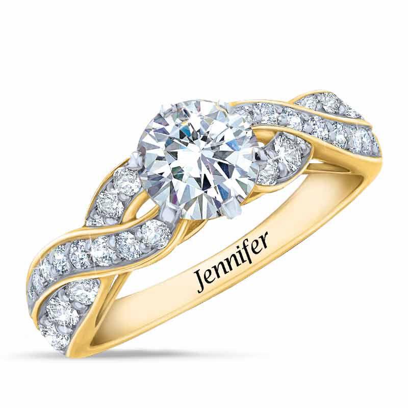 Birthstone Swirl Personalized Ring 5361 001 0 4