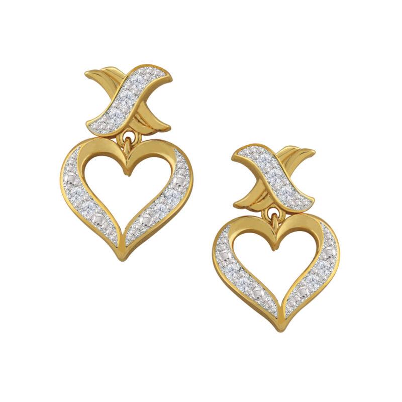 Treasures of Heart Golden Jewelry Set 10338 0010 c earring1
