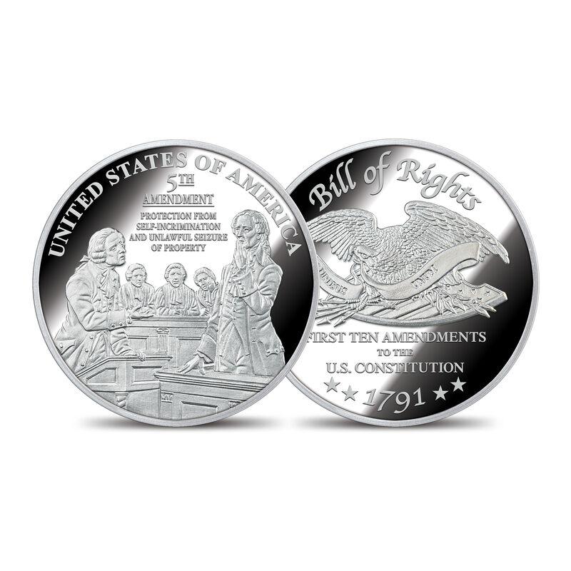 The Bill of Rights Silver Bullion Commemoratives 6530 0022 d commemorative5