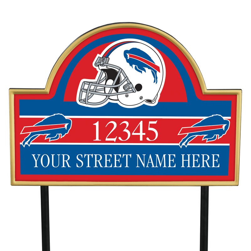 NFL Pride Personalized Address Plaques 5463 0405 a bills