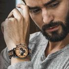 The Craftsman Mens Wooden Chronograph 4915 001 4 4