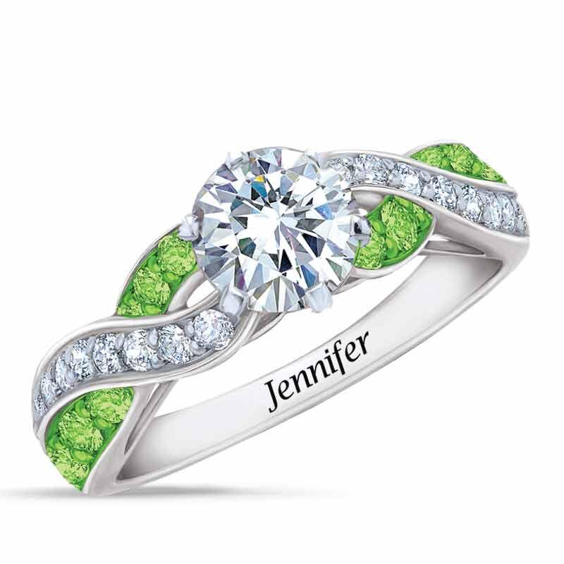 Birthstone Swirl Ring 6366 001 3 8