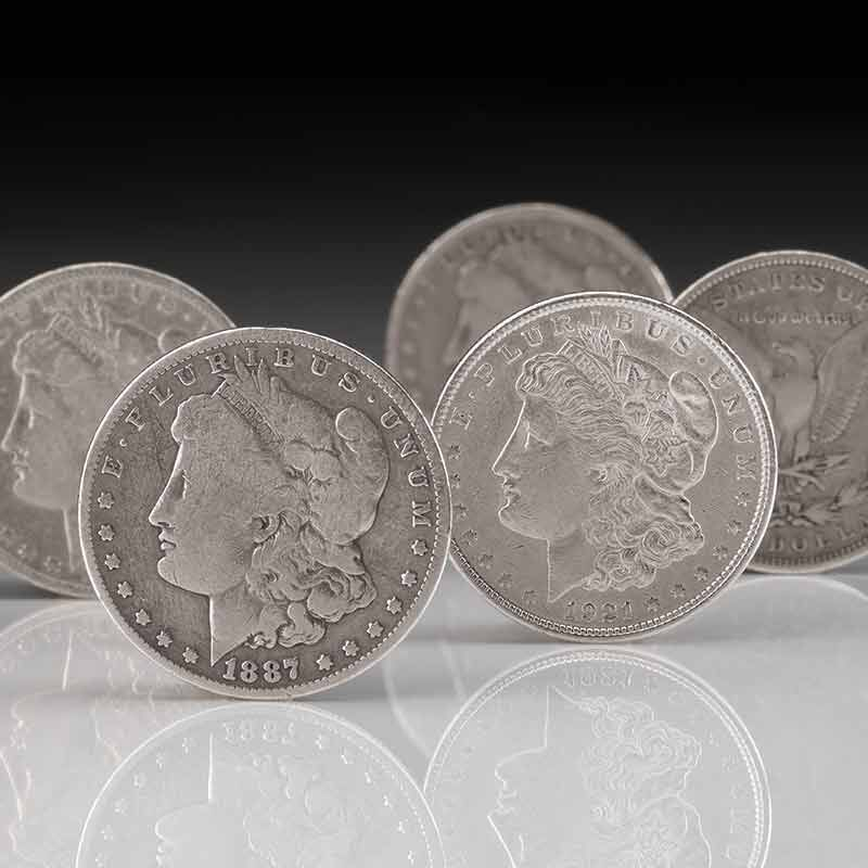 The Complete Collection of Morgan Silver Dollars 5423 001 6 2