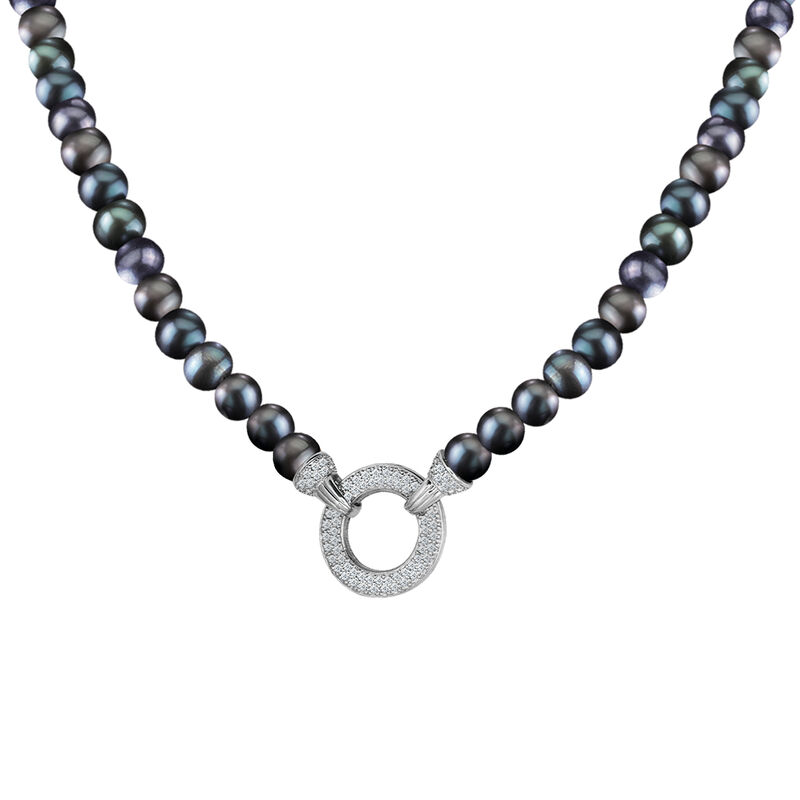 Magical=Moments Black Pearl Necklace 6922 0028 e necklace