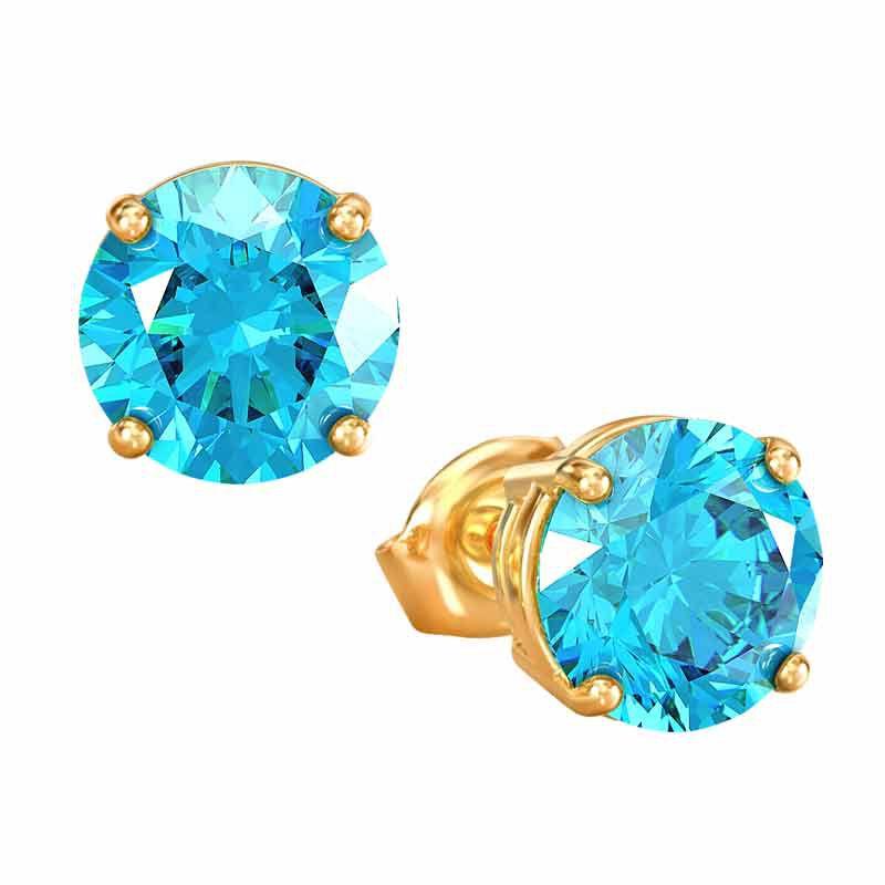 Birthstone Stud Earrings 3359 013 4 12