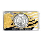 The 1921 Morgan Silver Dollar 100th Anniversary Tribute 6700 0018 c ingotback