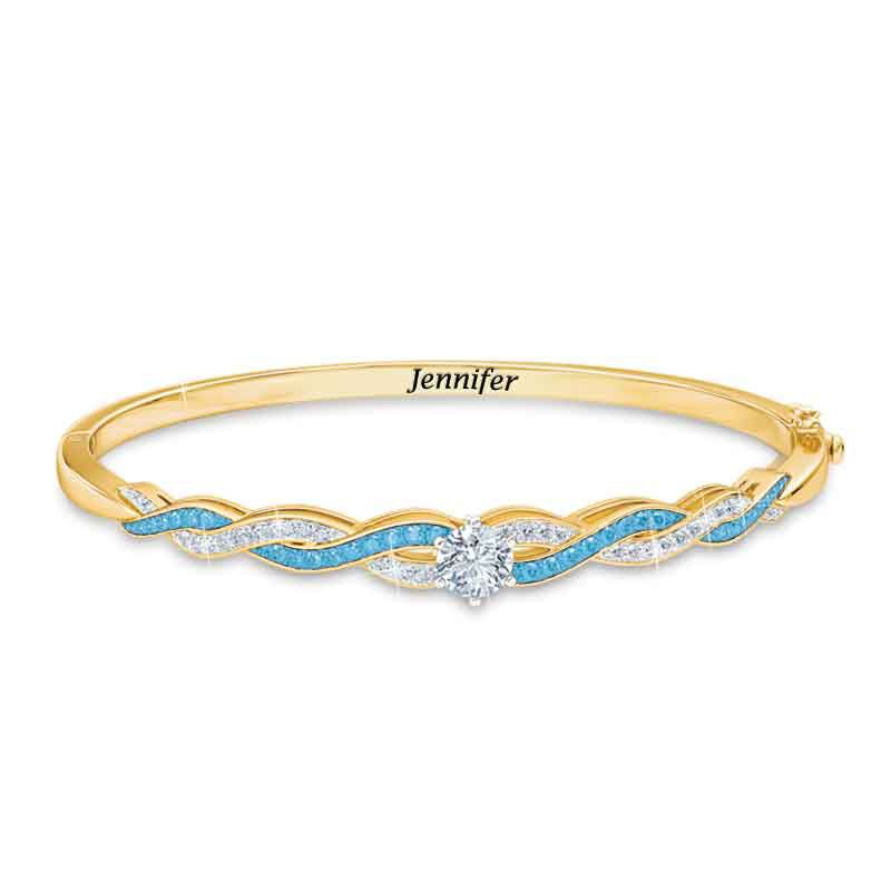 Birthstone Swirl Bracelet 5821 001 4 3