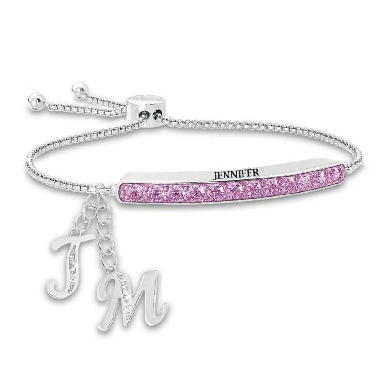 Personalized Birthstone Bolo Bracelet 1864 002 9 6