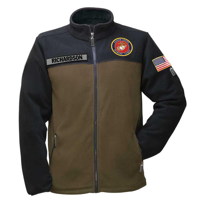 The US Marines Womens Fleece Jacket 1662 013 0 1