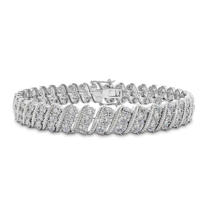 Bold  Brilliant Birthstone Bracelet 6003 001 2 4