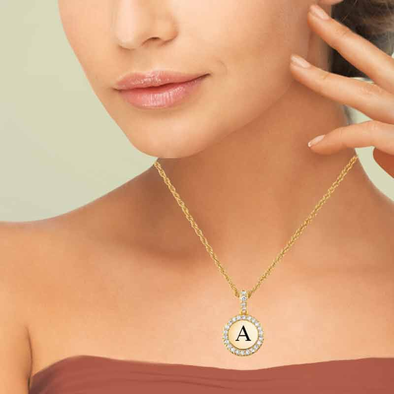 Personalized Initial Pendant 1412 005 9 4