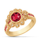 A Dozen Roses Birthstone Diamond Ring 6874 0018 a main