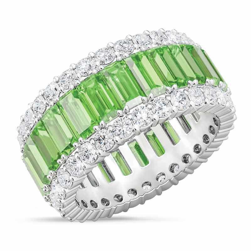 Birthstone Beauty Eternity Ring 2811 001 3 8