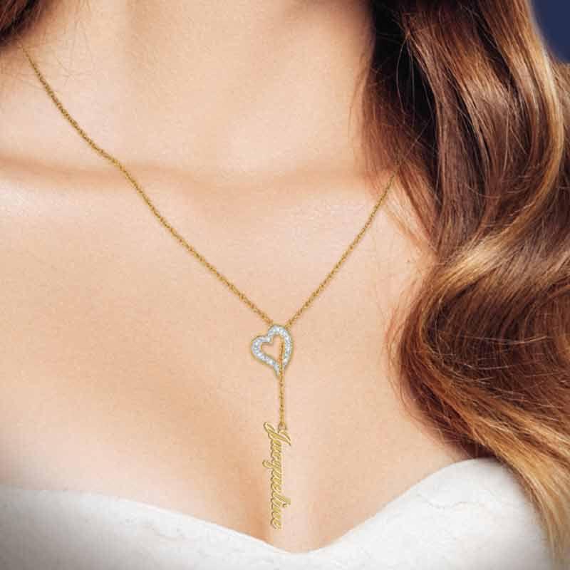 The Diamond Heart Necklace 6686 001 6 2