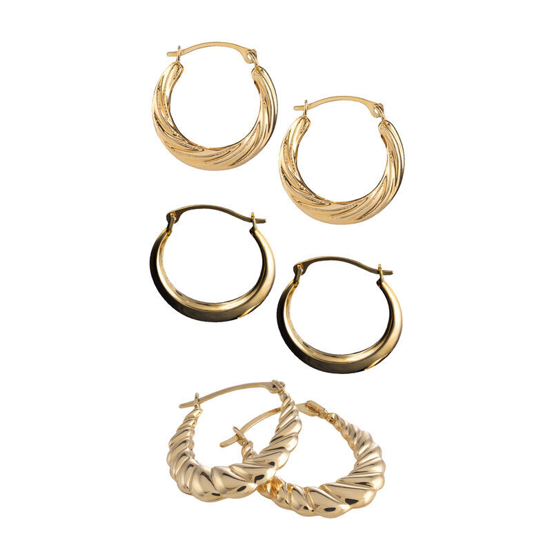 The Essential Gold Earring Set 6315 001 5 1