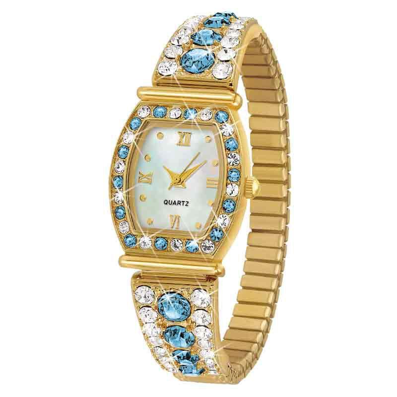 Birthstone Stretch Watch 5597 001 6 12