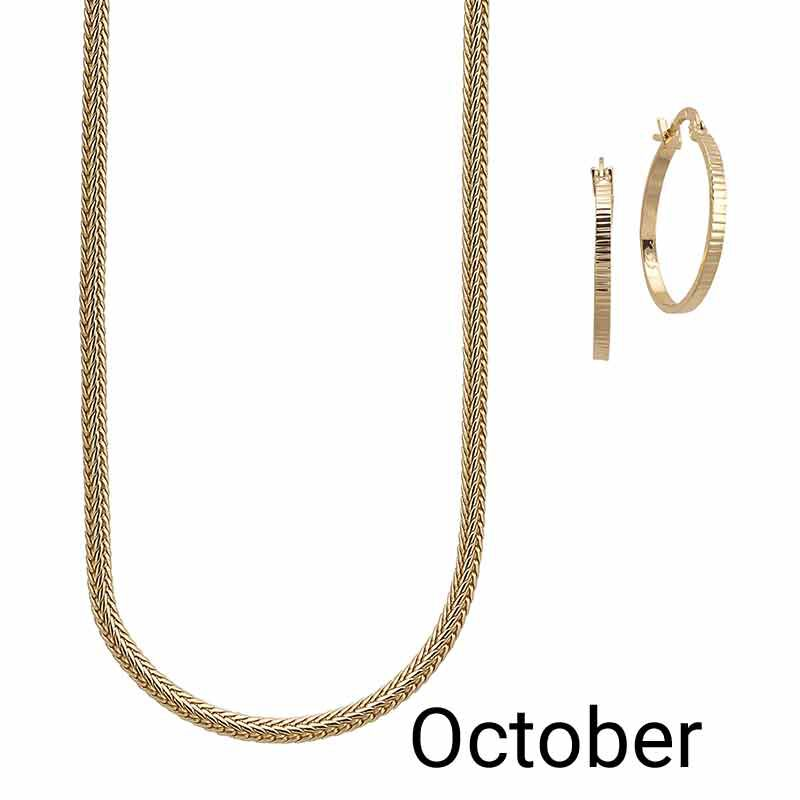 Golden Essentials Necklace Collection 6564 001 3 11
