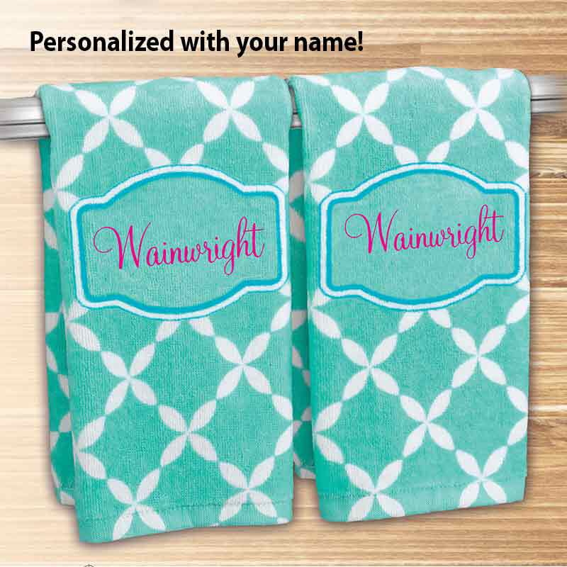 A Year of Cheer Hand Towel Collection 4824 002 2 5