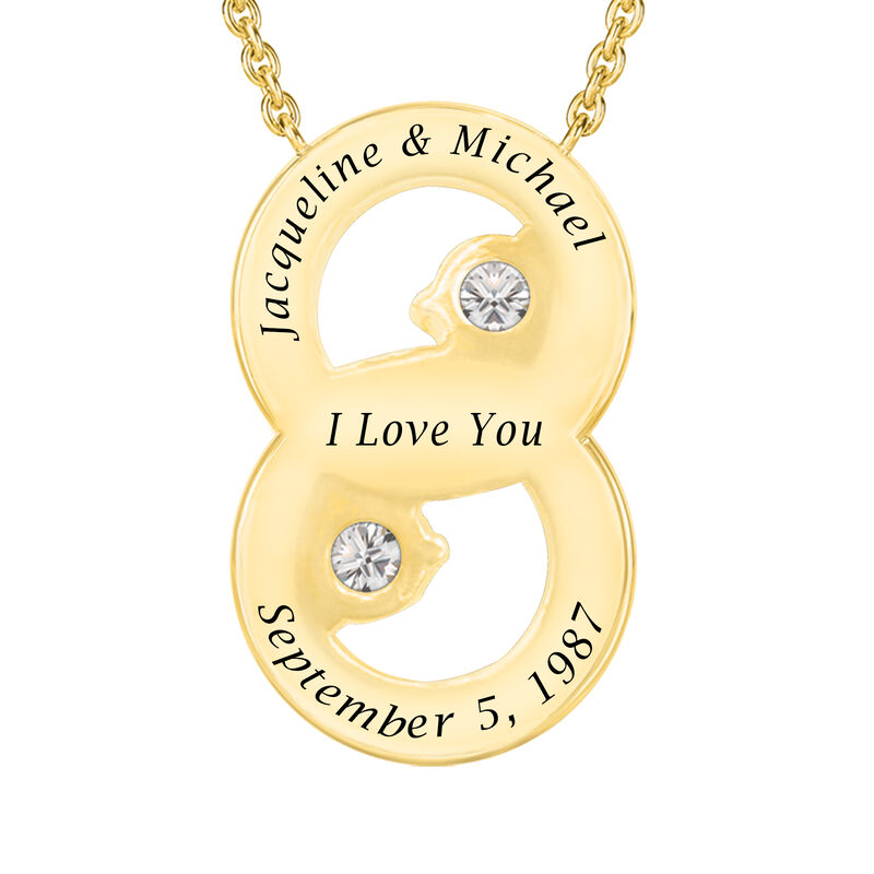 I Still Do Marriage Symbol Pendant 6925 0041 c back