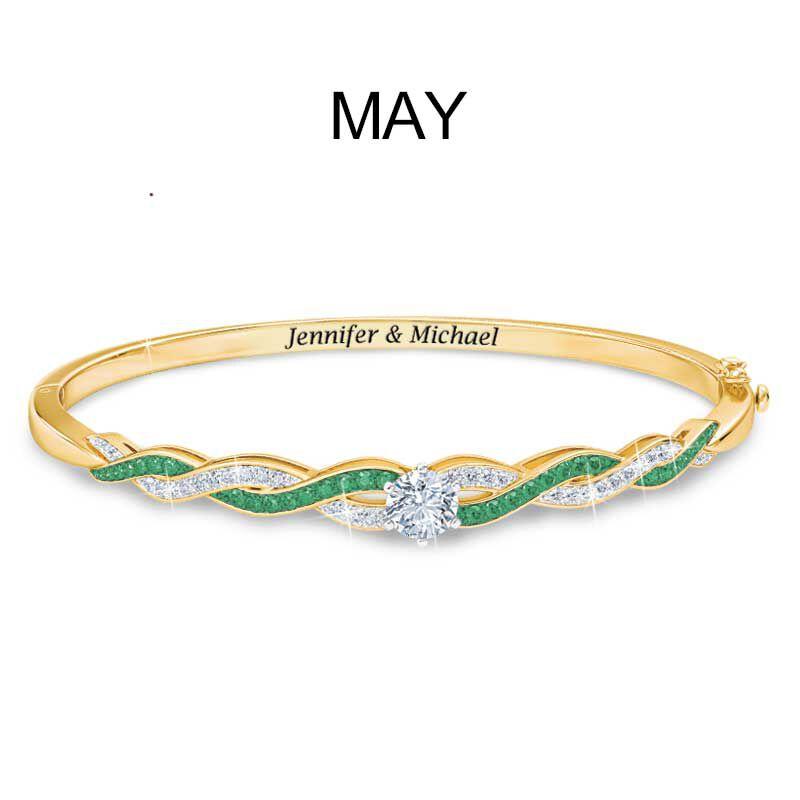 Birthstone Swirl Bracelet 5821 002 2 6