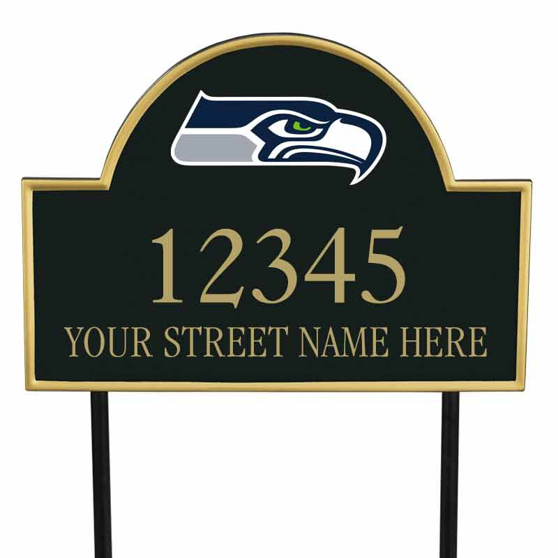 The NFL Personalized Address Plaque 5463 0355 z seahawks
