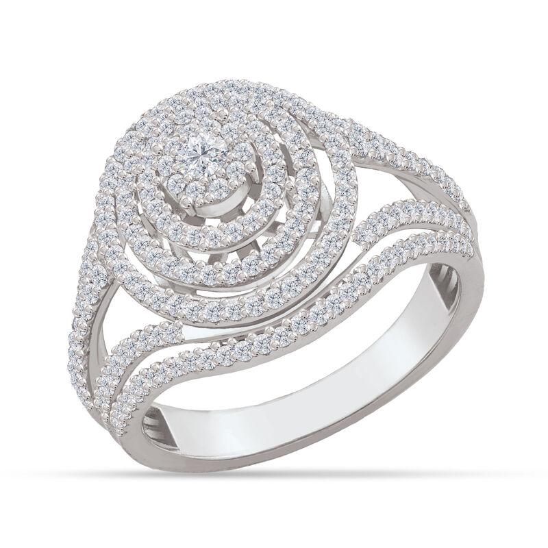 Brilliance Diamond Cocktail Ring 6535 0019 a main