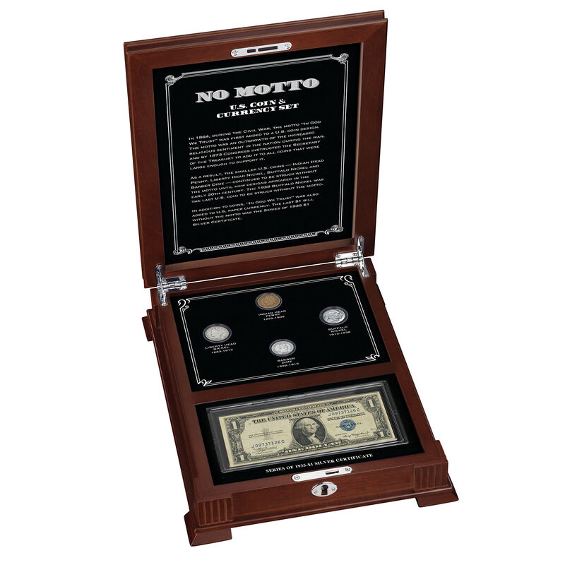 The No Motto US Coin Currency Set 6809 0018 a mainimg