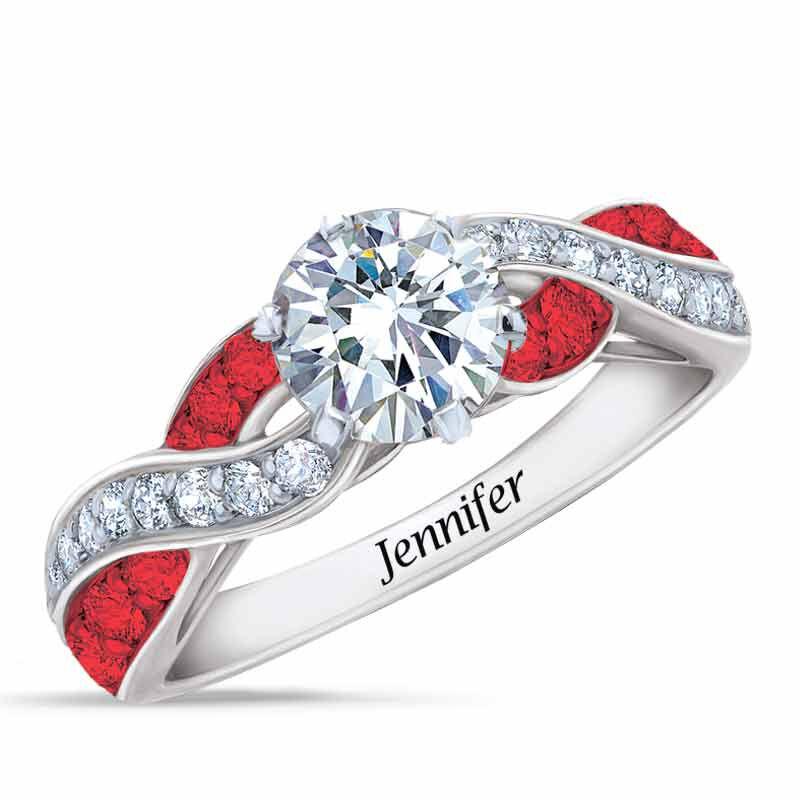 Birthstone Swirl Ring 6366 001 3 7