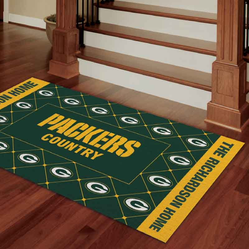 The Packers Accent Rug 6383 001 2 3