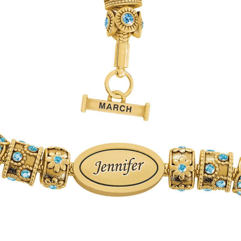 Beauty Personalized Charm Bracelet 2406 001 4 3