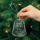 The Personalized Glass Ornament Set 10082 0018 b hand holding