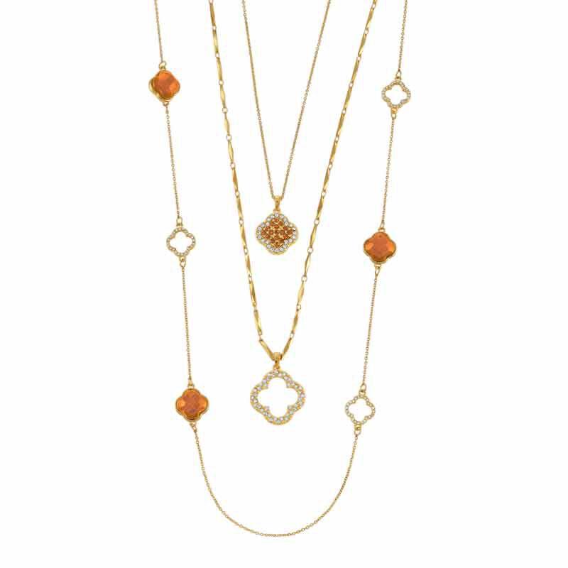 Birthstone Beauty Layered Necklace Set 6594 001 7 11