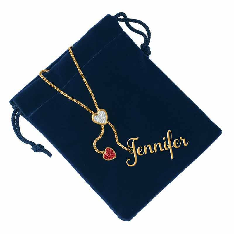 Daughter Personalized Birthstone Bolo Necklace 6525 001 1 7