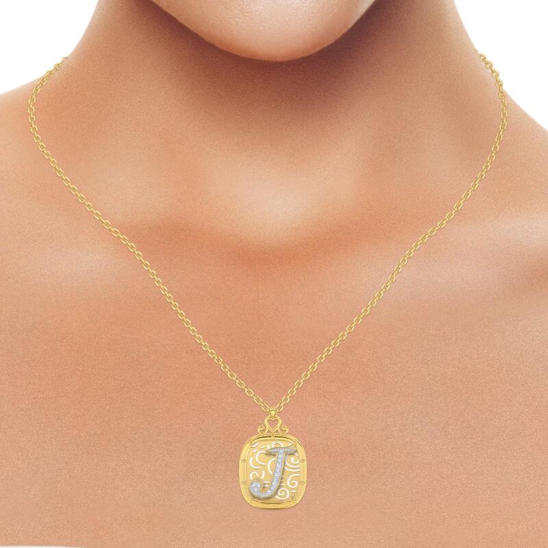 The Diamond Initial Pendant 6923 0019 m model
