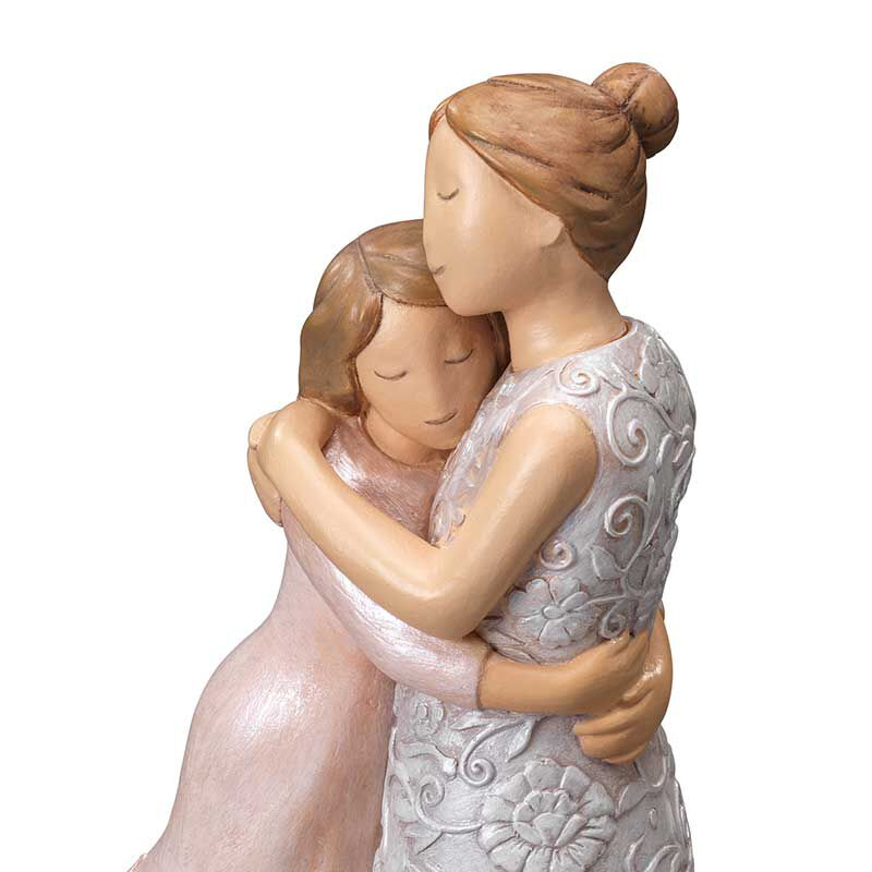 For My Daughter Everlasting Embrace Heirloom Figurine 6157 001 6 2