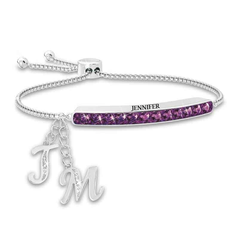 Personalized Birthstone Bolo Bracelet 1864 002 9 2