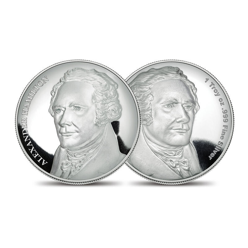 The Founding Fathers Silver Proof Commemoratives Collection 6287 001 9 1